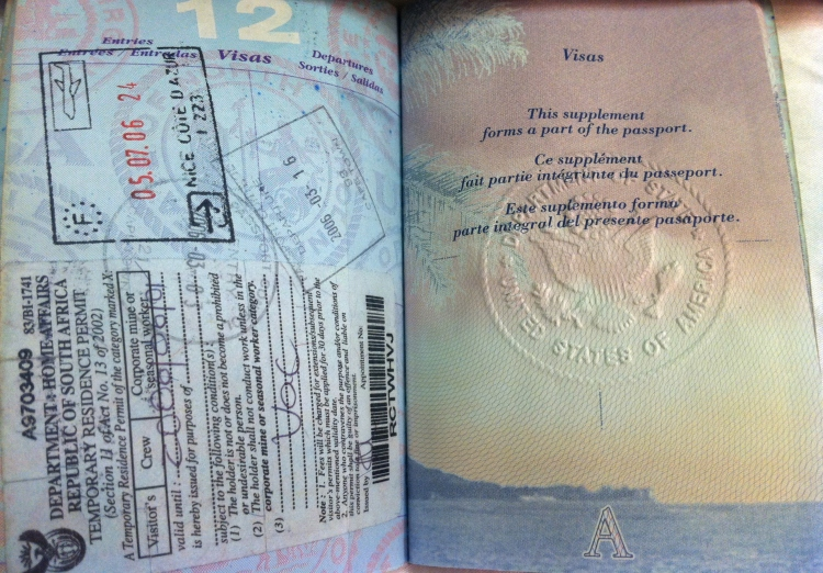 Extra Passport Pages